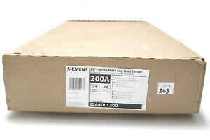 Siemens S2440L1200 200 Amp 24 Space, 40 Circuit Load Center