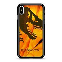 Life Finds A Way Quote Roaring Hungry Mad Furious Dinosaur 2D Phone Case Cover