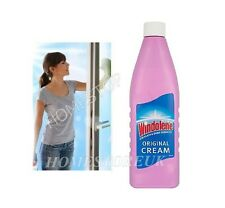 WINDOLENE PINK CREAM EMULSION CLEANING GLASS WINDOW SHINY CLEANER ORIGINAL 500ml
