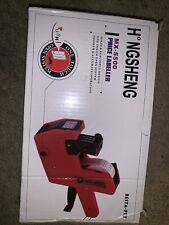 Mx5500 Eos 8 Digits Price Tag Gun Labeler Labeller Includes Labelsink 1st Run