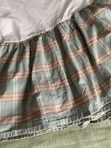 CHAPS Ralph Lauren Montego Bay Bedskirt Plaid Western King
