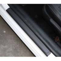 4X Einstiegsleisten Schutz 3D Carbon Fiber Auto Plate Aufkleber Ladekantenschutz