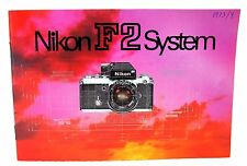 GENUINE NIKON F2 SYSTEM GUIDE!! GOOD CONDITION!!