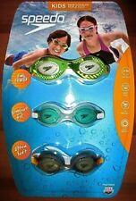 SPEEDO 3-Pack Swimming Goggles Kids 3-10 Years