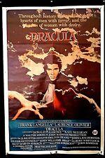DRACULA - Frank Langella 1979 ORIGINAL AUSTRALIAN ONE SHEET MOVIE POSTER