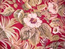 FLOWERS & FOLIAGE Fall Round Tablecloth TROPICAL AUTUMN Print Seasonal Colors