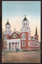 Postcard HEALDSBURG California/CA  Catholic Church view 1907?