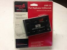 NEW SEALED TOSHIBA USB 2.0 Port Replicator II 4 x 2.0 Port Ethernet 41A94 FOR PC