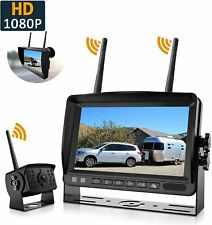 Wireless HD 1080P Backup Camera + 7