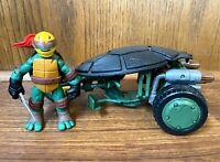 Ninja Stealth Bike & Raphael TMNT Ninja Turtles Vehicle Figure Set 2012 Raph