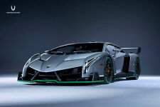 1:18 Kyosho Lamborghini Veneno grau grey with green Line
