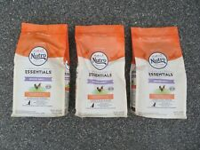(3) Bags Nutro Feed Clean Wholesome Essentials Indoor Cat Food 3 lbs Each