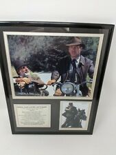 """Legends Never Die"" Indiana Jones & the Last Crusade framed photo collage 11x14"
