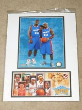 USPS NBA 2005 ALL-STAR GAME LEBRON JAMES SHAQUILLE O'NEAL PHOTO / 1ST DAY COVER