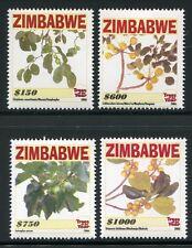 Zimbabwe Zimbabwe 2006 alberi Trees Piante plants 856-59 post FRESCHI MNH