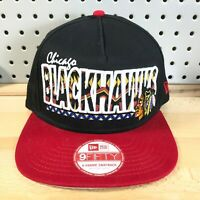 Chicago Blackhawks NHL Hockey New Era A-Frame 9FIFTY SnapBack Tribal Hat M/L Cap