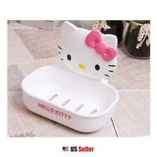 Sanrio Hello Kitty Soap Dish Holder Shower Bathroom : Kitty with Pink Bow