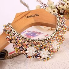 Sequin Detachable Collar False Collar Necklace Pearl Choker Gifts For Women/Girl