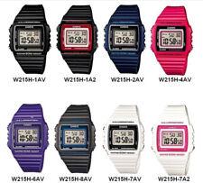 Casio W215H Sports Unisex Classic Digital Wrist Watch With Alarm And Date. VDIY
