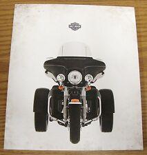 2009 HARLEY DAVIDSON 12 PAGE TRIKE MODEL TRI GLIDE SALES BROCHURE CATALOG