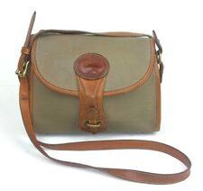 Dooney & Bourke Essex Taupe Brown Leather Shoulder Bag Pebbled Purse Vintage