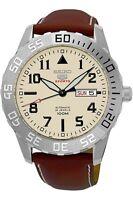 Seiko 5Sports Reloj Hombre Automático Día + Fecha Fondo de Cristal 43mm Pulsera