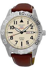 Seiko 5sports Reloj Hombre Automático Día + FECHA FONDO DE CRISTAL 43mm