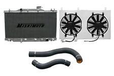 MISHIMOTO Radiator+Fan Shroud+Hose Kit Black 02-06 Acura RSX MT DC5 Base/Type-S