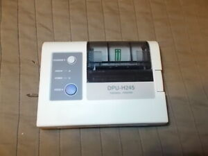 New Old Stock Seiko DPU-h245AP Portable Thermal Printer Portable Label Printer