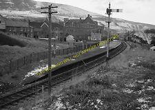 Caerau Railway Station Photo. Cymmer - Nantyffyllon.Maesteg Line. GWR. (4)