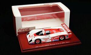 TSM 104317 LM03C NISSAN FAIRLADY Z model car Coca Cola GrpC JSPC Japan 84 1:43rd