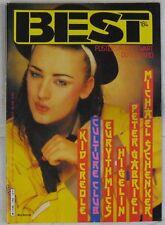 Revue BEST Novembre 1983 Culture Club Eurythmics Peter Gabriel
