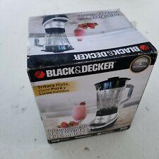 BLACK DECKER BL1130SG FusionBlade Gray Blender 6 Cup Glass Jar 12 Speed