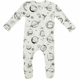 ANGEL DEAR INFANT HUGGLABLE PLANETS ZIPPER FOOTIE SIZE: 12-18M  NWT