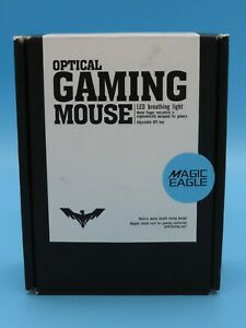 HAVIT   Magic Eagle HV-MS720 Wired USB Gaming Mouse Black + Green 6 Buttons