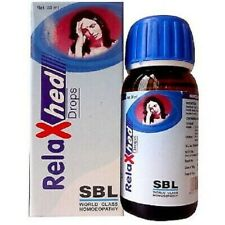 SBL Relaxhed Drops for Headache Homeopathic medicine 30ml
