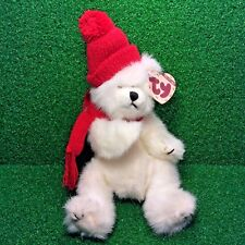 Ty Attic Treasures Peppermint The Potbellied Bear Retired Jointed Plush - MWMT
