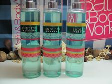 Bath and Body Works Lot of 3 ~ ENDLESS WEEKEND ~  Fine Fragrance Mist