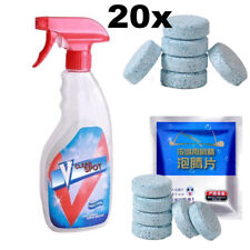 20PCS/Set Multifunctional Effervescent Spray Cleaner Concentrate V Clean Spot
