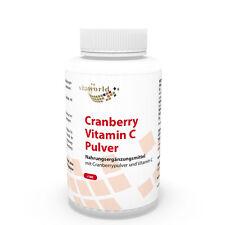 Arándano Rojo 400mg + Vitamina C 180 Cápsulas Vegetales - Vita World Farmacia