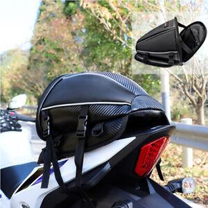 Motorcycle Tail Bag Motorbike Seat Bag Waterproof Saddlebags Luggage backpack