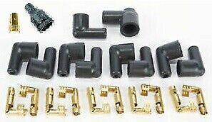 Spark Plug Wire Boot & Terminal Kit Points Style Ignition 90° Distributor Boots