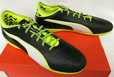 Puma EvoTouch 2 Indoor 103694-01 Black Kanga Soccer Boots Shoes Men's 11.5 new