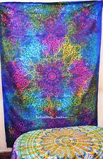 Star mandala Wall Hanging Twin Tapestry Bedspread Hippie Bohemian Home Decor 2uh