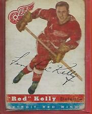 54-55 TOPPS # 5**RED KELLY**(DETROIT RED WINGS)HOF Look picture for Details