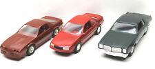 3 Ertl 1988 Beretta GT+IROC-Z + 1978 Dodge Monaco Plastic Car Replicas Promos
