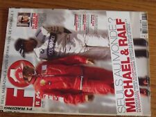 $$$ Revue F1 Racing N°39 SchumacherButtonSauberMika Salo50ans Ferrari