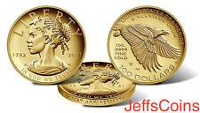 2017 W American Liberty 225th Anniversary Proof Gold Coin 17XA .9999 24k Lady