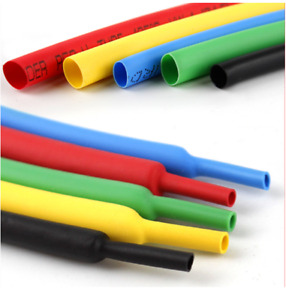 16 Feet Heat Shrink Wire Wrap Assortment Set 1mm - 10mm 2:1 Multi Color Tubing