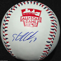 STARLIN CASTRO SIGNED 2014 ALL STAR BASEBALL NEW YORK YANKEES CHICAGO CUBS J3